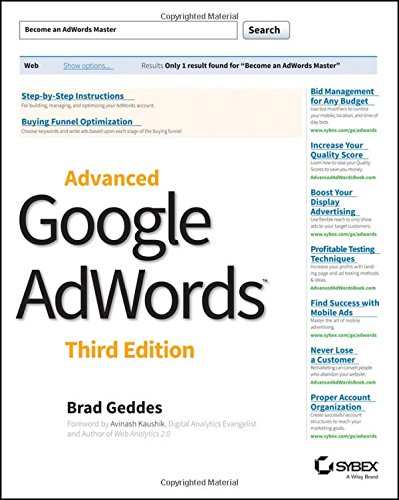 Download Advanced Google AdWords