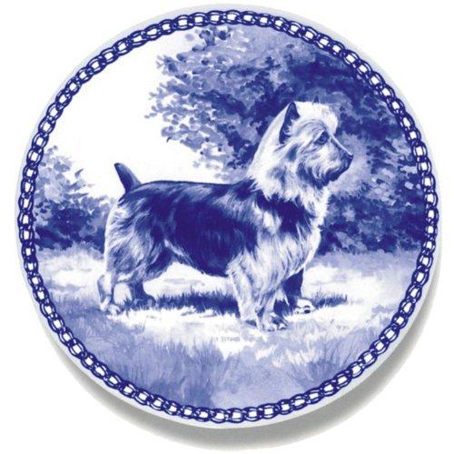 デンマーク製 ドッグ・プレート (犬の絵皿) 直輸入! Australian Terrier / オーストラリアン・テリア