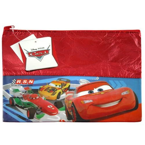 Disney Cars Foil Large Pouch with Zipper - 1