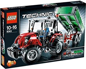 Lego 8063 Technic - Tractor with Trailer