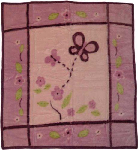 CoCaLo Baby 716095 Sugar Plum Soft & Cozy Blanket