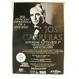 Jose Carreras of the three tenors Handbill Poster