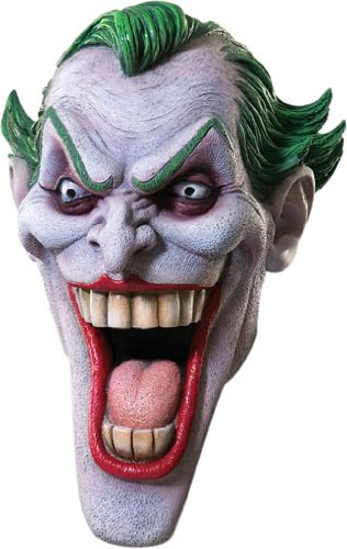 Rubie's Costume Dc Heroes and Villains Collection Joker Latex Mask