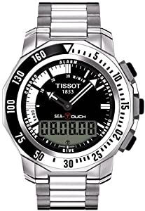 Mens Watch Tissot T0264201105101 T-Touch Stainless Steel T-Touch Sea Touch Analo
