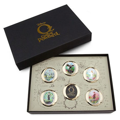 Disney Store Oz The Great and Powerful 6 Pin Boxed Gift Set Limited Edition 250