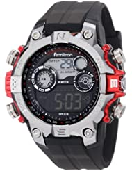 Armitron 40 8251RED Digital Metalized