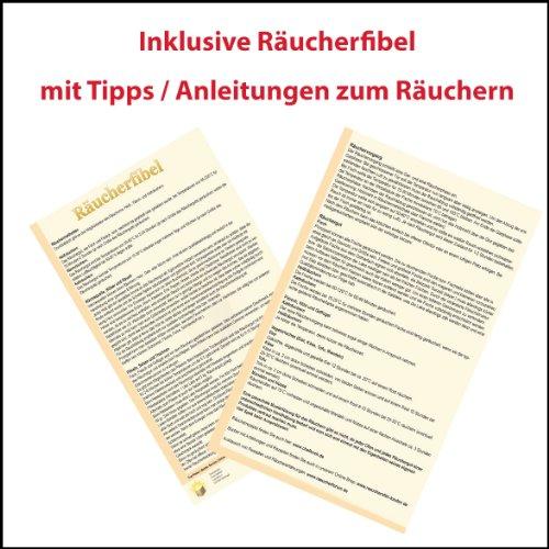 Nischenmarkt Multi Räucherschrank / Räucherofen mit Sichtscheibe*