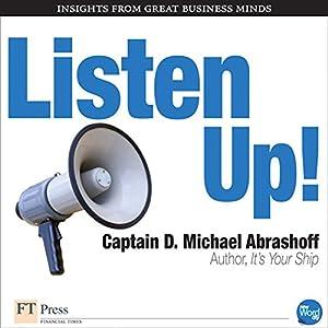 Listen Up! Audiobook