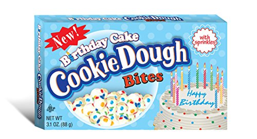 Cookie Dough Bites, Birthday Cake, 3.1 Ounce (Pack of 12) (Cake Cookie Dough compare prices)