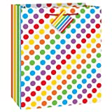 Unique Rainbow Party Gift Bag, Multicolor thumbnail