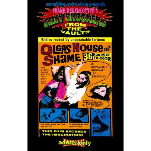 Amazon.com: Olga's House of Shame Movie Poster (11 x 17 Inches - 28cm x 44cm) (1964) Style A