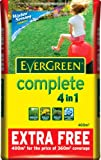 EverGreen Complete 360 sq m + 10% Extra Free Lawn Food, Weed and Moss Killer Bag