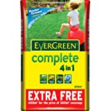 EverGreen Complete 360 sq m + 10% Extra Free Lawn Food, Weed and Moss Killer Bagby Scotts Miracle-Gro