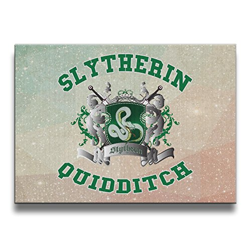 ASCHO2 Harry Potter-Slytherin Quidditch 5 Frameless Art Photo Frame Picture Frame - Display Photo Home Wall Art Decor For Home Living Room Office Or (Custom Costumes In Edmonton)