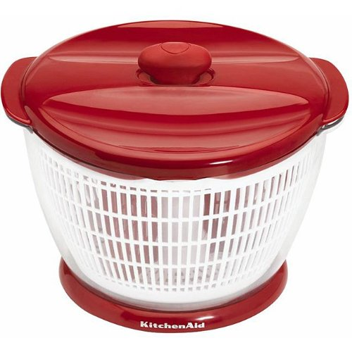 Bargain Kitchenaid Professional Salad Spinner, Red save