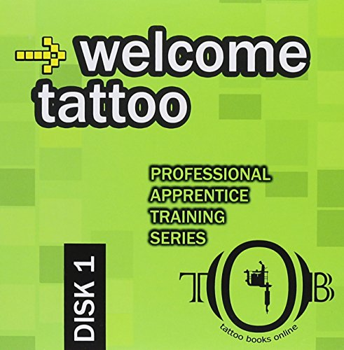 Welcome tattoo apprentice training series disk 1 for Tattoo apprenticeship programs