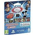 Sony - Tarjeta De Memoria De 8 GB + Disney Mega Pack Juegos (PS Vita)