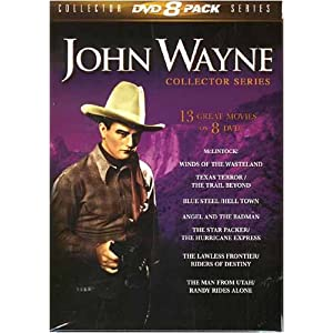 John Wayne Collector Series - 13 Great Movies on 8 DVDs movie