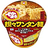 マルちゃん でかまる担々ワンタン麺 133g×12個