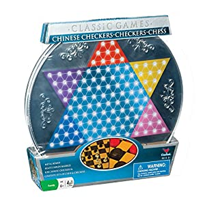 Metal Board Chinese Checkers, Checkers  and  Chess