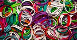 ECX Gummy Bracelets 3-Pack Assorted Colors