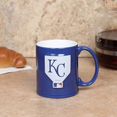 MLB Kansas City Royals Royal Blue 11oz. Ceramic Sculpted Mug