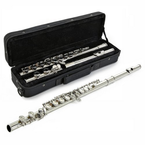 Student Flute with Case by Gear4music - Ex Demo