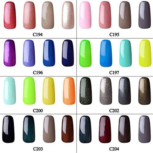 Uas Manicura Ruimio Pcs Pinceles Para Uas Colores Uas Stickers - Uas-manicura