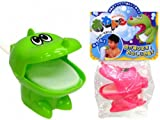 日本製 お風呂で遊ぶおもちゃ あわどん ( ストロー で泡が飛び出す ) 2個セット 1556