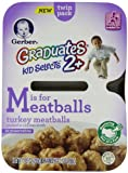 Gerber Graduates Kid Selects Turkey Meatballs, 7.05 Ounce (Pack of 8)