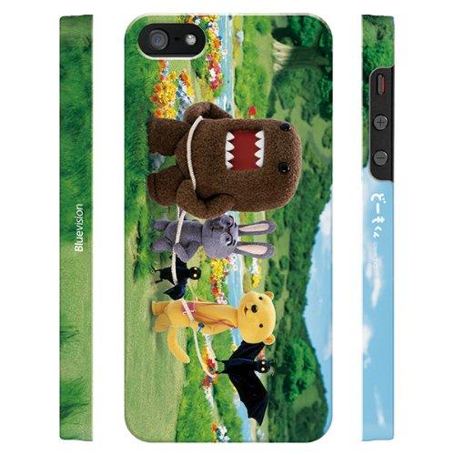 Bluevision iPhone 5s/5用ケース どーもくん 電車ごっこ BV-DOMO-IP5D