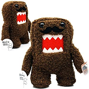 "Licensed 2 Play Domo Moustache 6 1/2"" Plush Novelty Doll"