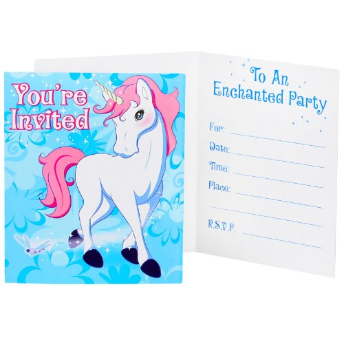 Enchanted-Unicorn-Party-Supplies-Invitations-8