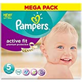 Pampers Active Fit Size 5 Junior 11-25kg (72)