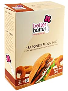 Better Batter Gluten Free Seasoned Flour Mix -- 20oz