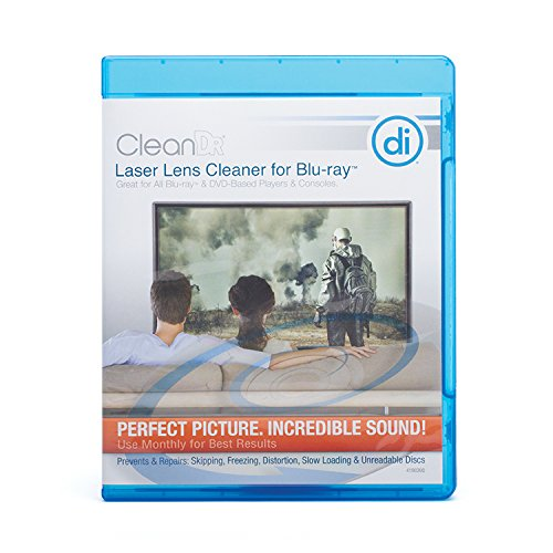 Digital Innovations 4190300 CleanDr for Blu-Ray Laser Lens Cleaner