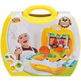 Venus-Planet Of Toys, 24 Pcs Kitchen Set, In A Portable Briefcase, Fun Interactive Diy Toy For Kids Age Above 3
