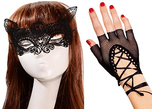 IF FEEL Halloween Masquerade Party Cosplay Costume Accessories Treat or Trick (One size, 7-2) ()