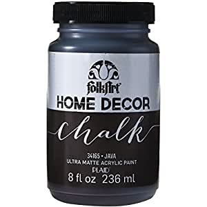 Brand new folkart home decor chalk paint 8oz for Home decor brands