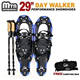 "Search : New MTN Man Woman Kid Youth 29"" Snowshoes with Nordic Walking Pole Free Bag"