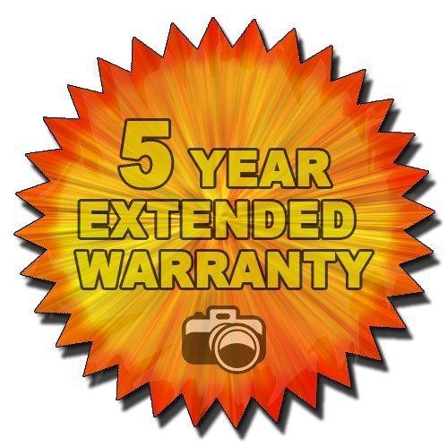 Panasonic Lumix DMC-FZ28 DMC-FZ30 DMC-FZ50 DMC-FZ7 DMC-FZ8 DMC-FZ18 Digital Cameras - 5 Year Extended Warranty Plan