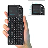 Rii Mini K01X1 2.4GHz Tiny Wireless Keyboard (Built-in TouchPad) For PC, PAD, XBox 360, PS3, Google Android TV Box, HTPC, IPTV,UK Layout