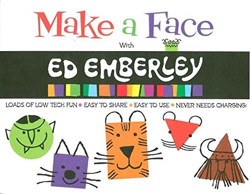 Make a Face With ed Emberley /Anglais (Ed Emberley on the Go!)