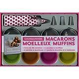 Macarons, moelleux, muffins : Coffret gourmandisespar Charlotte Lasc�ve
