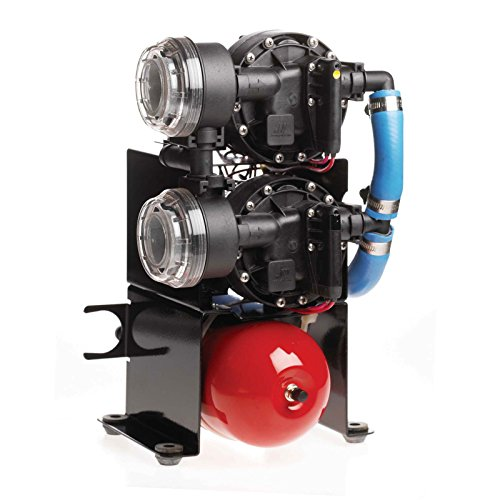 Johnson Pumps 10-13409-01 Aqua Jet Duo WPS 10.4 Water Pressure Pump System, 12V