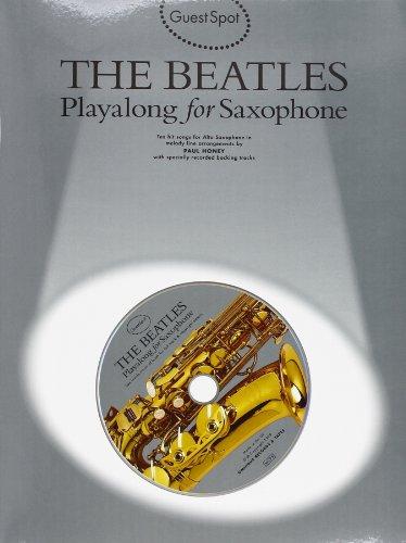 GS BEATLES PLYALONG SAX+CD (Guest Spot)