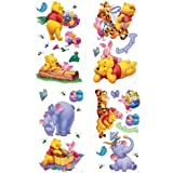 Winnie the Pooh wall stickers / Decals, 76 pieces