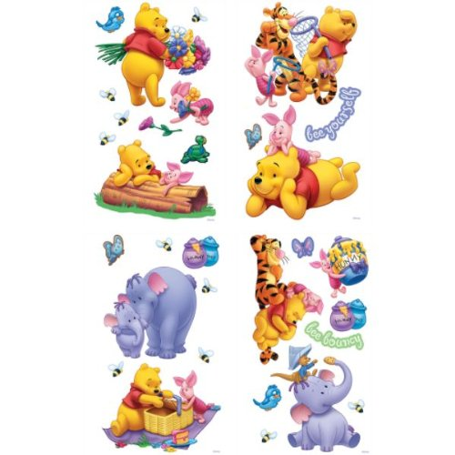winnie the pooh bunte wandsticker m belsticker. Black Bedroom Furniture Sets. Home Design Ideas