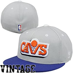 Cleveland Cavaliers Flat Bill Fitted Hat by Adidas size 6 7 8-7 1 4 M235Z by adidas