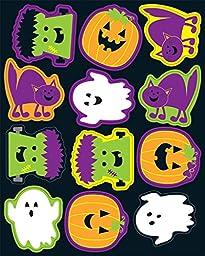 Carson Dellosa Halloween Shape Stickers (168189)